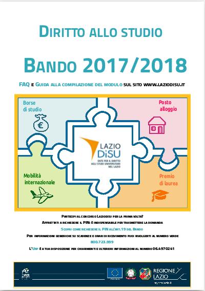 Testo Bando a.a.2017/2018
